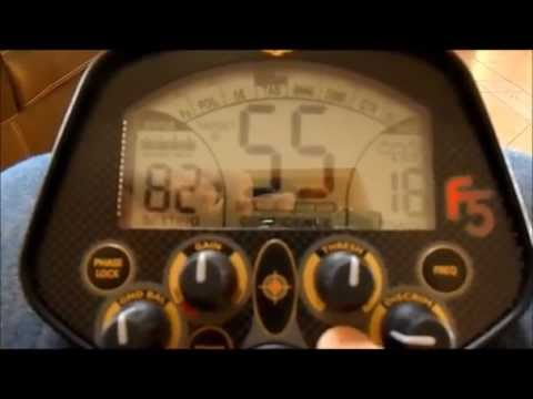 Metal Detector Fisher F5 - Recensione Italiano
