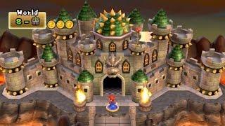 New Super Mario Bros Wii - World 8 Final Castle