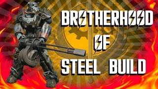 Fallout 4 Builds - The Paladin - Brotherhood of Steel Build