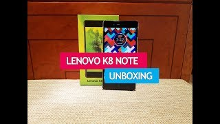 Lenovo K8 Note Unboxing and Hands on, Camera UI, Software Features