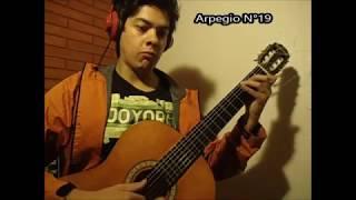 22 Arpegios en Do Mayor - Carcassi Op. 59
