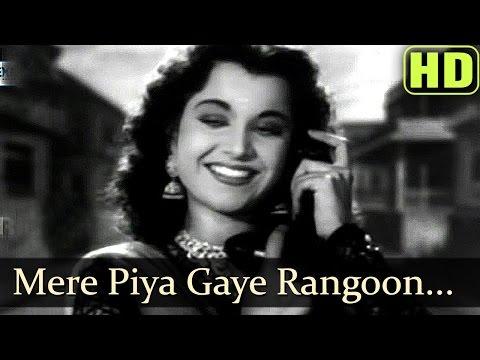 Mere Piya Gaye Rangoon - Patanga - Shamshad Begum Old Songs -Hindi Old Hits