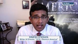 Malzberg | Dinesh D'Souza weighs in on President Obama's difficult relationship with Israel