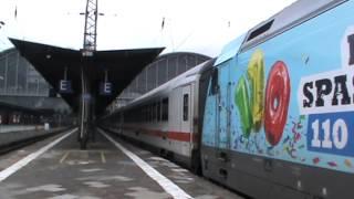 DB Fernverkehr 101 102-2 (VEDES) mit IC in Frankfurt am Main Hbf