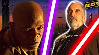 The First Time Mace Windu Dueled Vs Count Dooku - Explain Star Wars