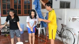 มนัส แนน จอย เมย์ แอน เอ๋ รับคำท้าพร้อมท้าต่อ!!! Ice Bucket Th