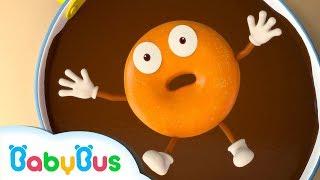 Play Doughnuts with Baby Panda   Numbers song   Nursery Rhymes   Kids Songs   Kids Videos   BabyBus