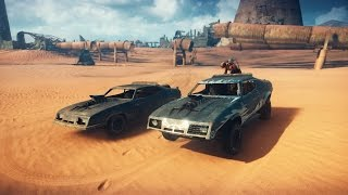 Mad Max PS4 - How To Make The V8 Interceptor