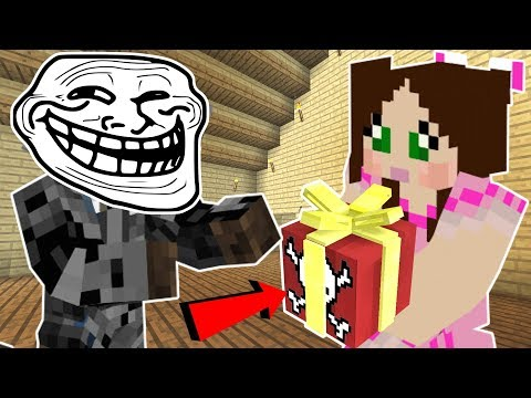 Minecraft CHRISTMAS TROLLING JEN EXPLOSIVE PRESENTS FALLING ICICLES & MORE Custom Command
