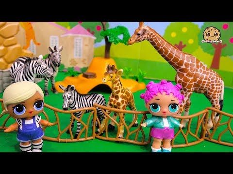 Xxx Mp4 Mom Baby Animals LOL Surprise Dolls At Zoo Toy Video 3gp Sex