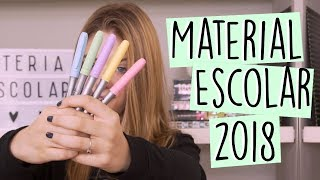 MATERIAL ESCOLAR 2018 || Valentina Schulz