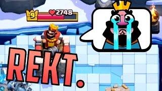 Let's Play Clash Royale #60: Emotes? REKT.