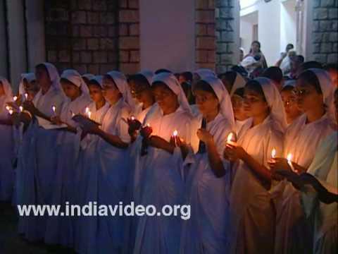 X mas celebrations, Kerala churches, Kerala, India