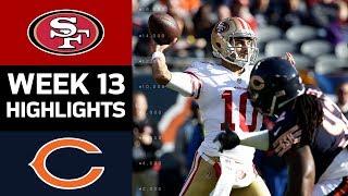 49ers vs. Bears | NFL Week 13 Game Highlights