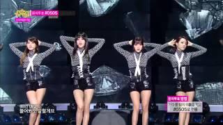 [HOT] Rainbow Blaxx - Cha Cha, 레인보우 블랙(재경,고우리,오승아,현영) - 차차, Show Music core 20140208