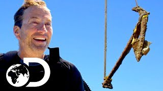 Darrell Finds 500 year old Anchor from Columbus