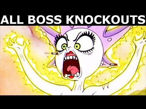 Cuphead All Boss Knockouts