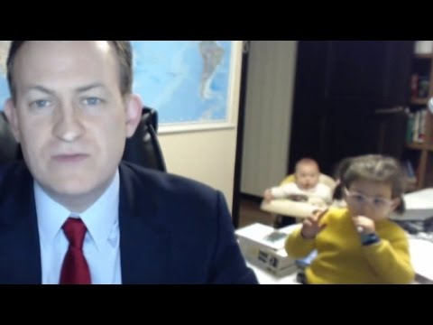 Watch The Hilarious Moment These Kids Crash Their Dad s Live Interview