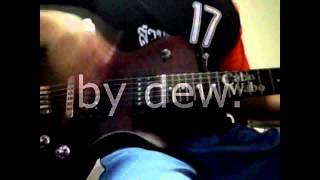 เจ็บไปรักไป cover guitar by dew