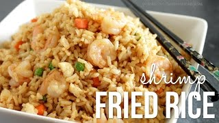 How to Make Shrimp Fried Rice!! Chinese Fried Rice Recipe
