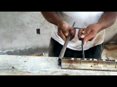 Tutorial técnica ingeniosa para hacer estribos de alambron para construccion.