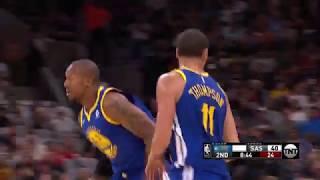 Golden State Warriors vs. San Antonio Spurs - November 2, 2017
