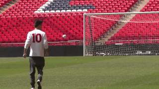 One Direction Members  take off shirts and play football