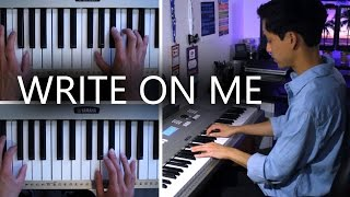 Fifth Harmony - Write On Me | Piano Cover
