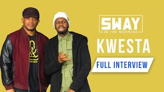 The King of African Rap Kwesta Smashes a Freestyle on Sway in the Morning