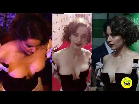 Download Kangna Ranaut Deep Cleavage At Jio Mami Film Festival 2017