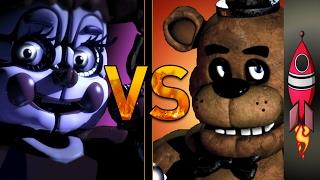 FNAF Sister Location Rap Wicked Sister VS Teddy Bear Nightmare | SONG BATTLE #9 | Rockit Gaming