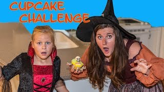 SPOOKY CUPCAKE Challenege Assistant Halloween with Mickey Mouse and Captain Hook