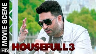 Ma Bhen rap by Abhishek Bachchan | Housefull 3 | Movie Scene