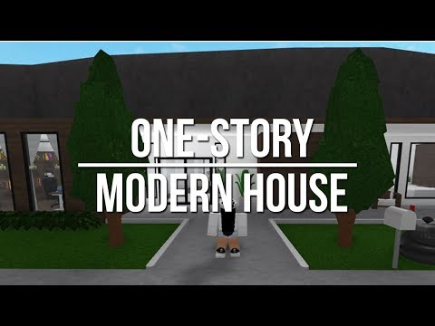 ROBLOX | Welcome to Bloxburg: One Story Modern House
