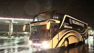 Bus Satria Muda dengan Scania K410 IB pertama di Indonesia