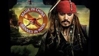 Pirates of the Caribbean 5 | Hindi Trailer | समुन्द्री  लुटेरे 5 | Funny