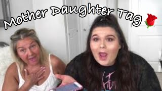 Mother daughter tag!