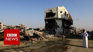Awamiya: Inside the devastated Saudi Shia town - BBC News