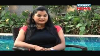 Soumya O Celebrity With Odia Actress Bidusmita Mantri