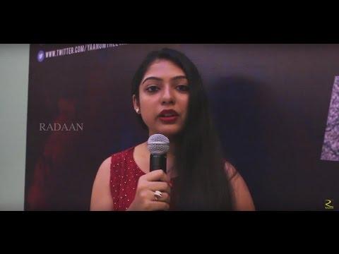 Actress Varsha Bollamma Speaks About Yaanum Theeyavan Movie
