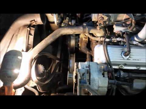 smog pump removal for Corvette