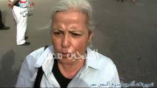 تعليق الرائعة منى مينا عن زيارة اعتصام «الصحفيين»