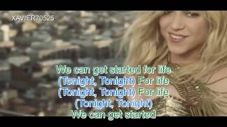 Get It Started  - Pitbull Ft. Shakira (Lyrics) Official  Video HD