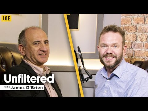 Armando Iannucci interview on Alan Partridge, Thick of It & Veep   Unfiltered James O'Brien #4