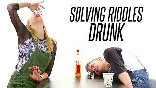 Co-Workers Drunkenly Solve Riddles