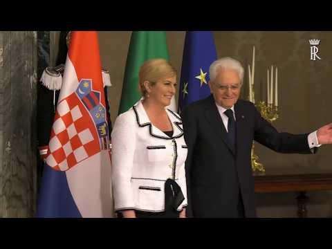 Xxx Mp4 Presidente Della Repubblica Di Croazia S E La Signora Kolinda Grabar Kitarović 3gp Sex