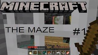 სახიფათო ლაბირინთი!   Minecraft: The Maze #1 (რუკის გასვლა)