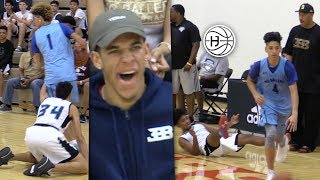 LaMelo Ball and Big Ballers were TOYING With the Competition! Future LAKER Lonzo Ball Watching!!!