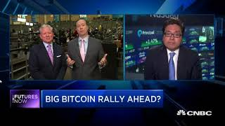 Bitcoin will Outperform Stocks Again in 2018 Says Tom Lee!