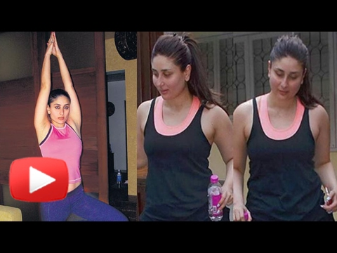 Xxx Mp4 Kareena Kapoor Fitness Routine Post Pregnancy Workout Yoga For Weight Loss Taimur Ali Khan 3gp Sex